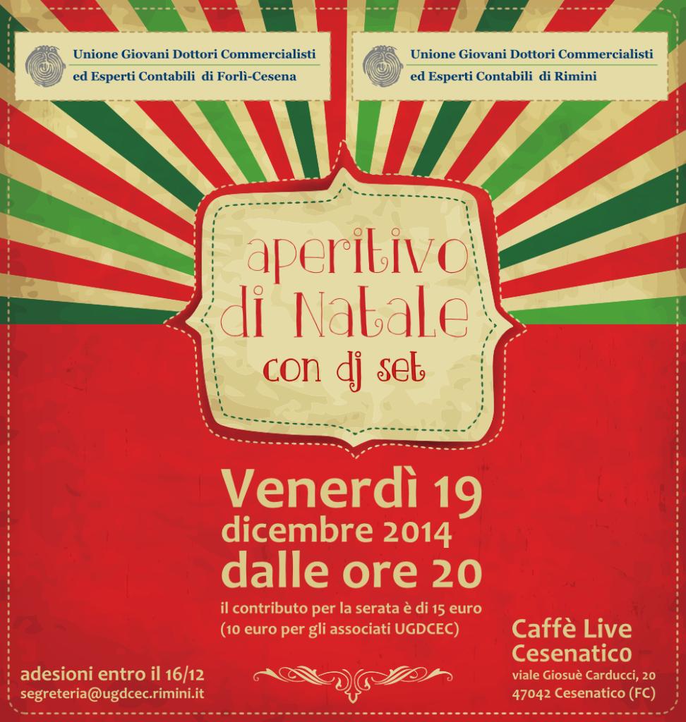 Aperitivo di Natale 19 Dicembre 2014 UGDCEC Rimini