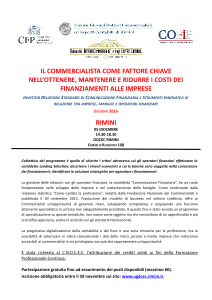 Ugdcec RN | Convegno Cofip | Rimini 05-12-2016