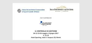 Controllo di gestione / maggio-giugno 2017 Rimini