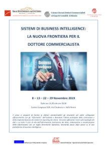 Corso - Sistemi di business intelligence: la nuova frontiera per il dottore commercialista / novembre 2019